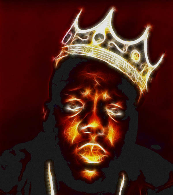 the notorious b i g biggie smalls poster