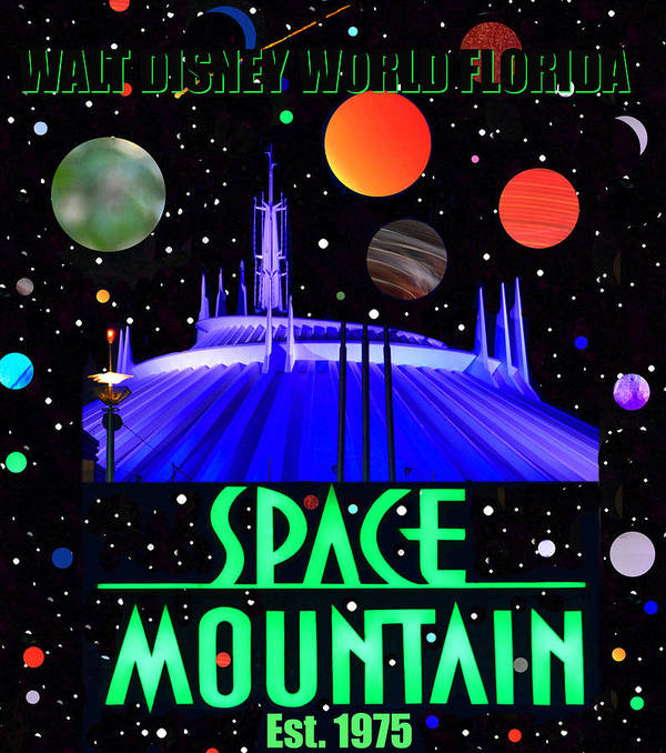 space mountain poster 1975 poster