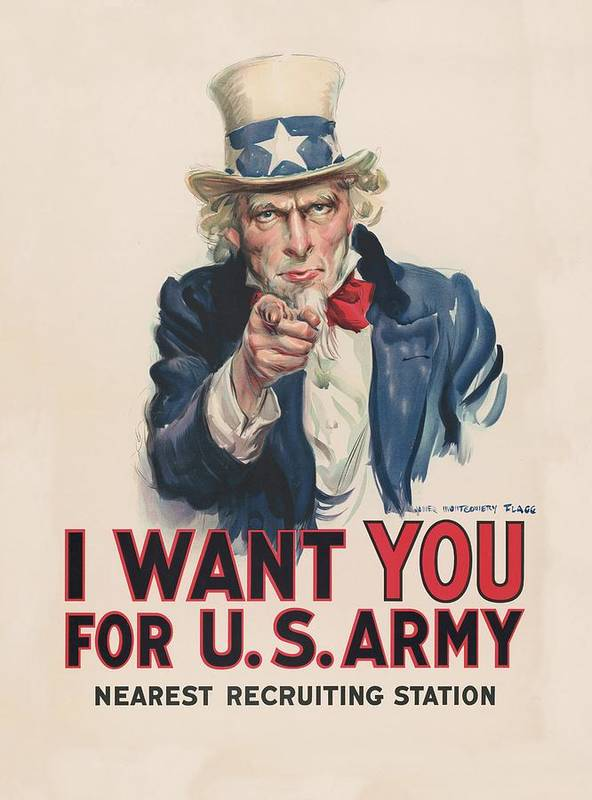 i want you for u s army 1917 poster