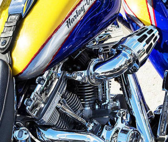 Harley Davidson Poster Featuring The Photograph Harley Davidson Screamin Eagle Fatboy By Tim Gainey
