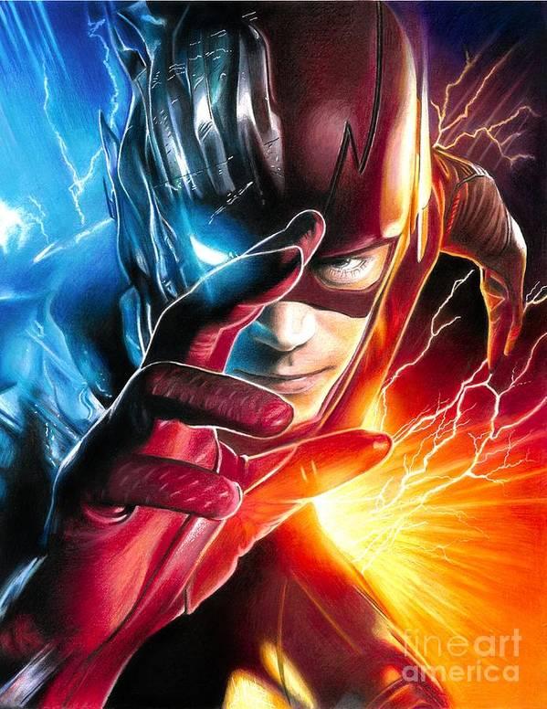 the flash savitar god of speed poster