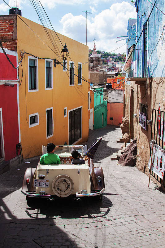 Who Said Mexicans Were Poor - Narrow Street in Guanajuato, Mexico, by Tatiana Travelways