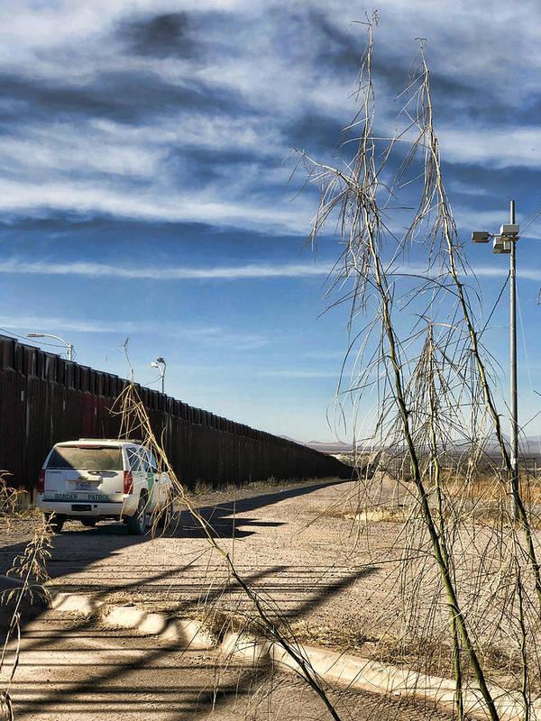 The wall between USA and Mexico in Douglas, Arizona - by Tatiana Travelways Douglas Arizona