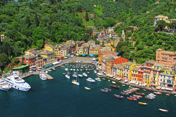 Portofino Italy by Richard Krebs