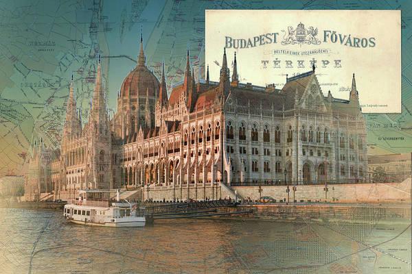 Budapest Fovaros Travel Map