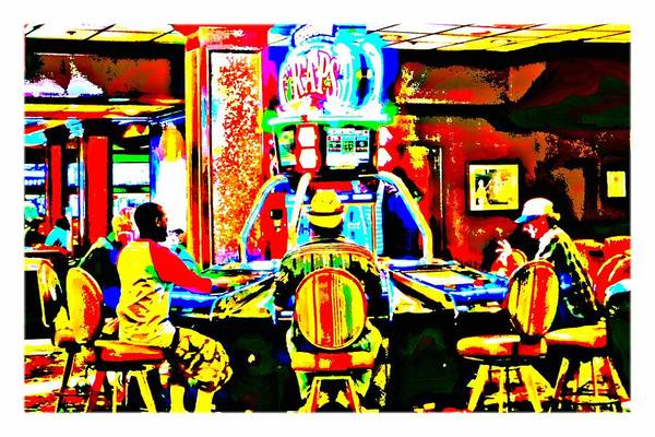 Craps At El Cortez Casino, Las Vegas- Pop Art by Tatiana Travelways
