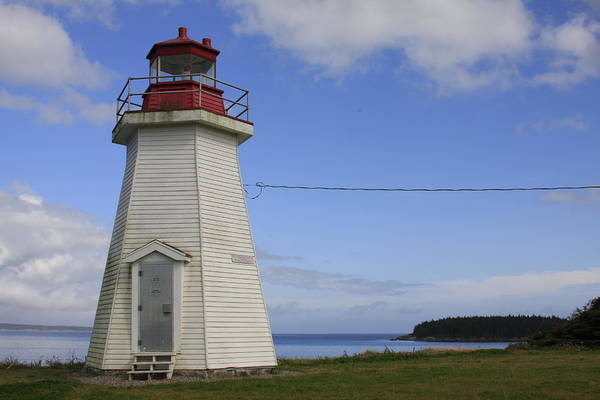 Lighthouse In Gabarus, Nova Scotia by Tatiana Travelways