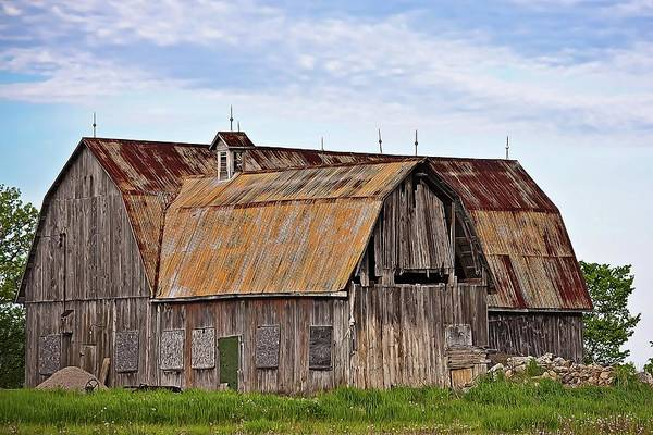 Barn Art Print featuring the photograph Still Standing by Tatiana Travelways