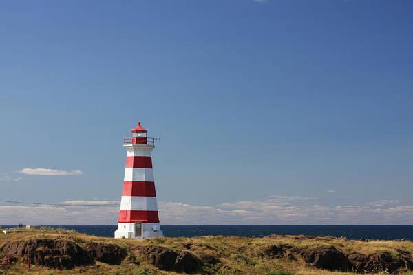 Striped Lighthouse - Briar Island by Tatiana Travelways