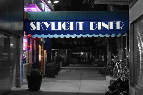 Skylight Diner in Midtown.