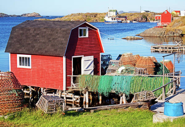 Change Islands Art Print featuring the photograph Change Islands, Newfoundland by Tatiana Travelways