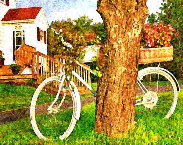 Bike with flowers