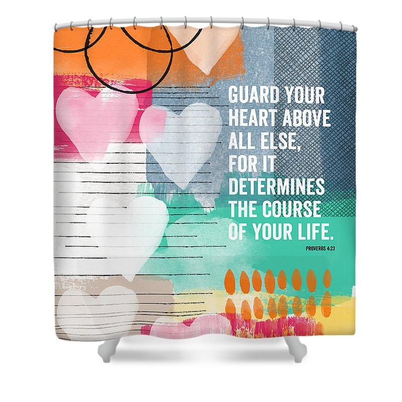 scripture shower curtains fine art