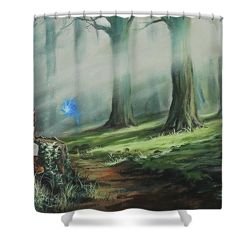 a song for navi shower curtain