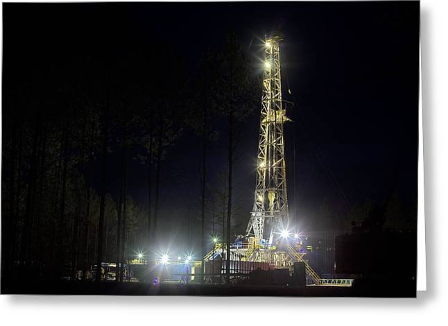 Oil And Gas Greeting Cards For Sale