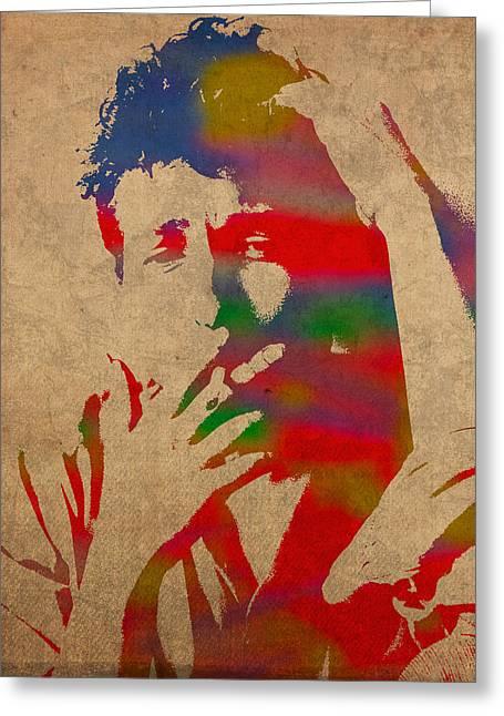 Bob Dylan Greeting Cards Fine Art America
