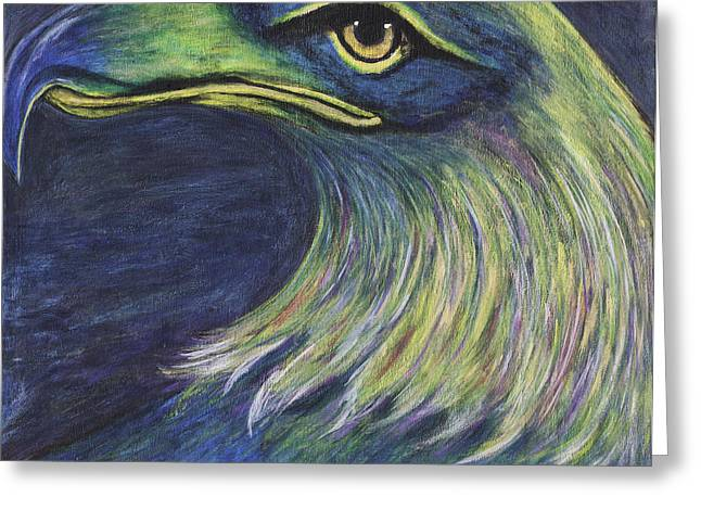 Panel Colorful Eagle 5 Painting
