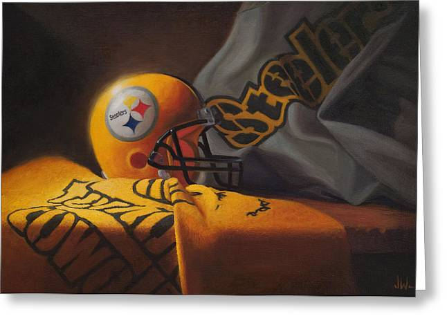 Pittsburgh Steelers Greeting Cards Fine Art America