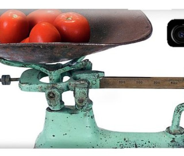 Weighing Iphone Case Weighing Scales By Daniel Sambraus Science Photo Library