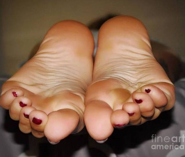 Foot Worship Wall Art Photograph Wrinkled Soles By Steve Pacheco