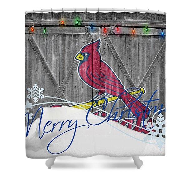 st louis cardinals shower curtains