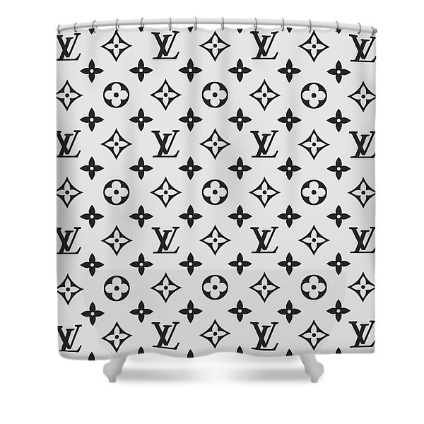 supreme lv shower curtain just me and