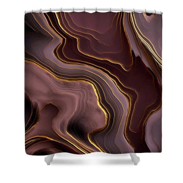 agate shower curtains fine art america