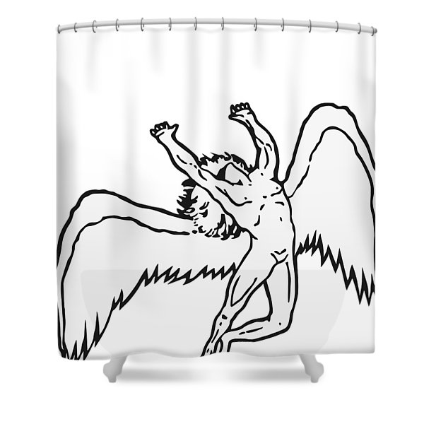 red veles shower curtains for sale