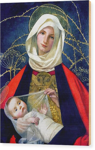 Madonna And Child Painting By Marianne Stokes