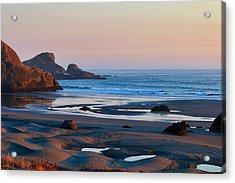Mendocino Coast Acrylic Print by Maria Jansson