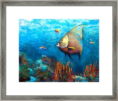 Angel Fish Painting By Andrew King