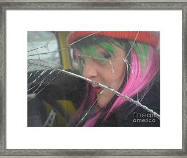 Cracked Dreams Framed Print By Shauna Obrien