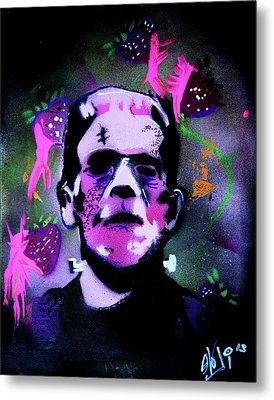 Cereal Killers - Frankenberry Metal Print by eVol i
