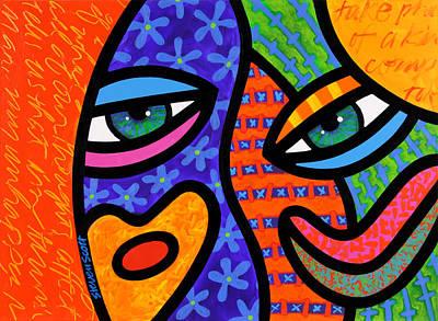 face posters fine art america