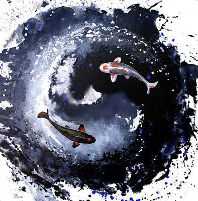 yin yang fish posters fine art america