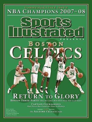 sports illustrated boston celtics posters
