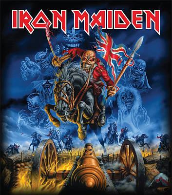 iron maiden posters fine art america
