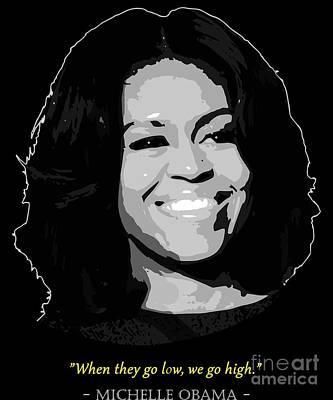 michelle obama posters fine art america