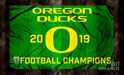 oregon ducks football posters fine
