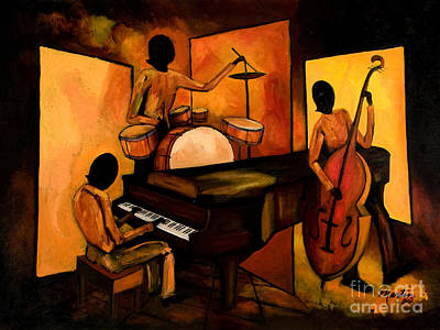 Abstract Jazz Paintings Fine Art America