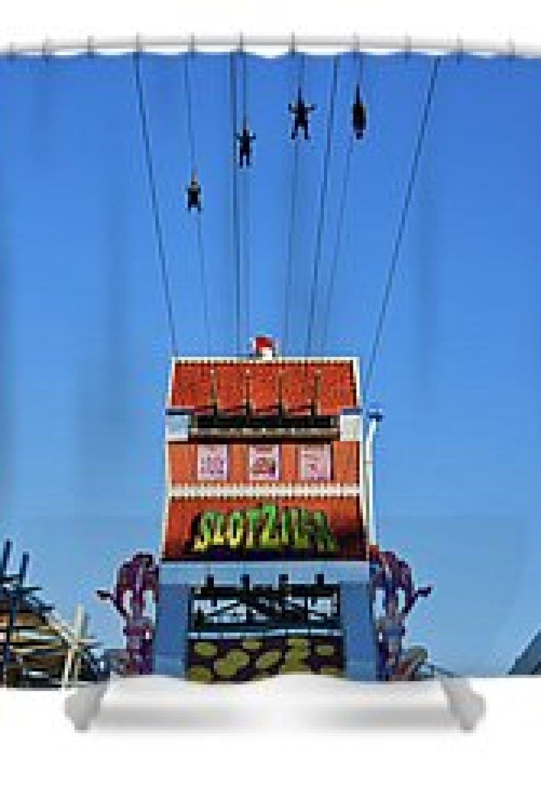 Slotzilla Las Vegas Shower Curtain