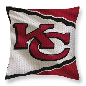 kansas city chiefs throw pillows fine