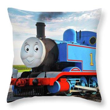 thomas the train throw pillows fine