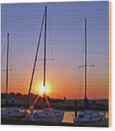 Yacht Club Sunrise Photograph By Judy Vincent
