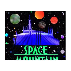inside space mountain poster by david