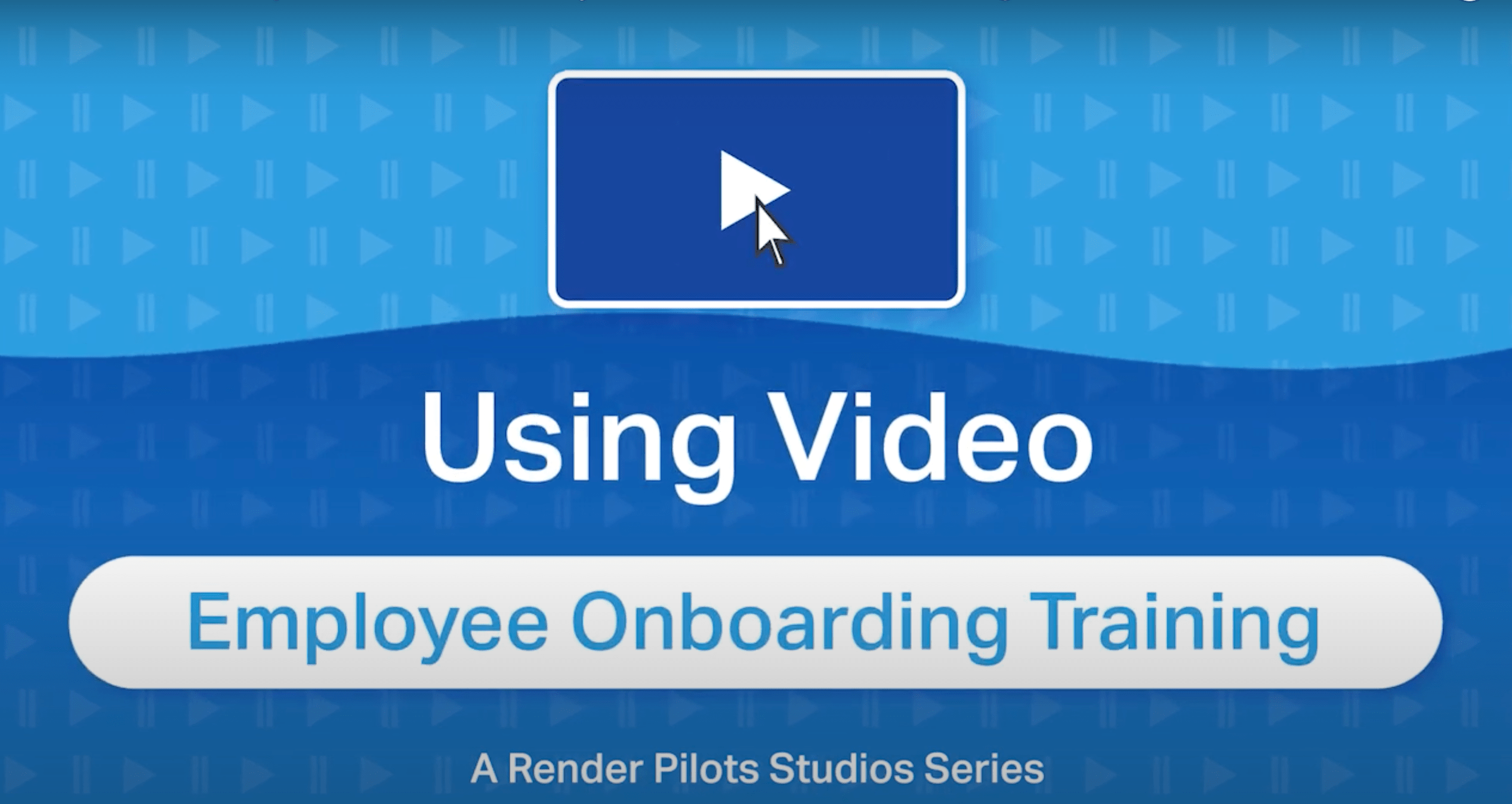 one minute with an expert video series by render pilots