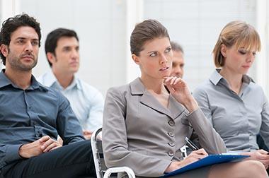 A tréning résztvevők 3 fő típusa