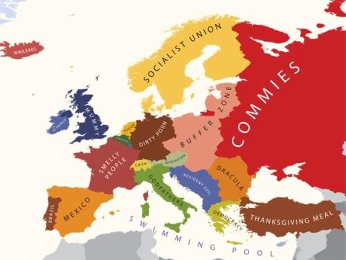 Europa i følge USA