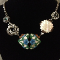 Photograph of a necklace created by Renee Designs