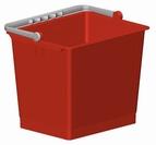 Spand 6 l (Rød)